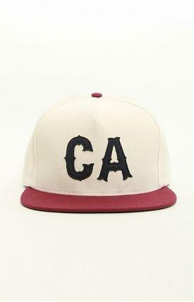 california initials cap, by primitive.: Primitive