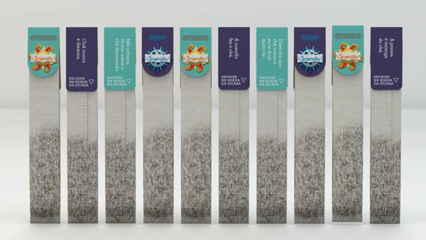 Imersão Tea (Student Project) on Packaging of the World - Creative Package Design Gallery
