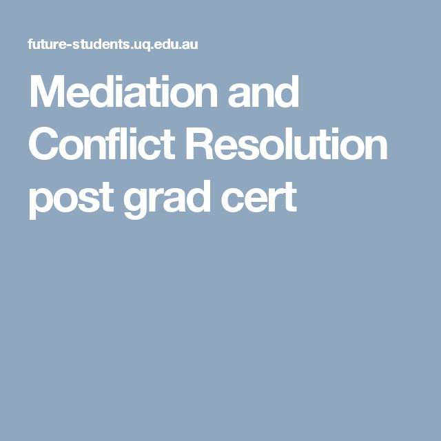 Mediation and Conflict Resolution Dulce