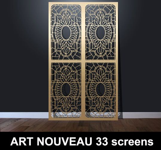 16 Best Art Deco Screens And Laser Cut Fretwork Patterns