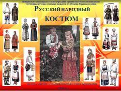 Русский народный костюм вятской губерни