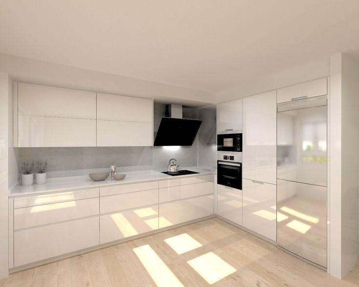 Una cocina luminosa y actual