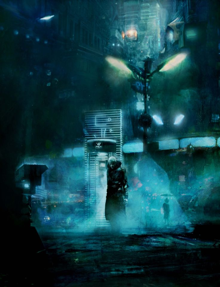 Christopher Shy - #BladeRunner 02 #replicant