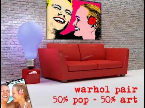 Stampe su Tela Pop Art - Crearti.eu