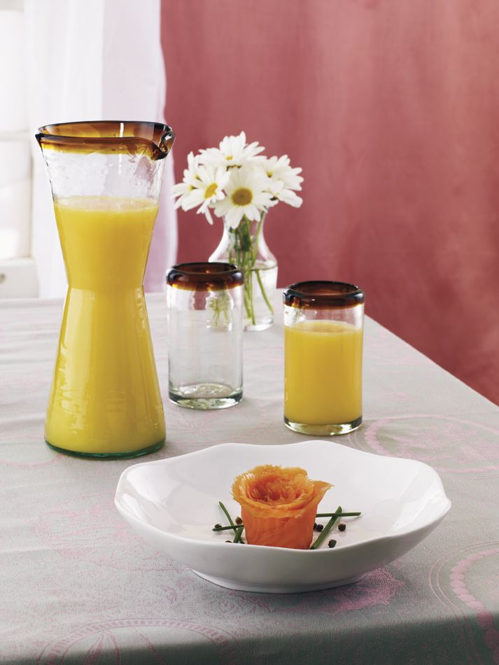 Orion Glassware featured in Tabletop Magazine