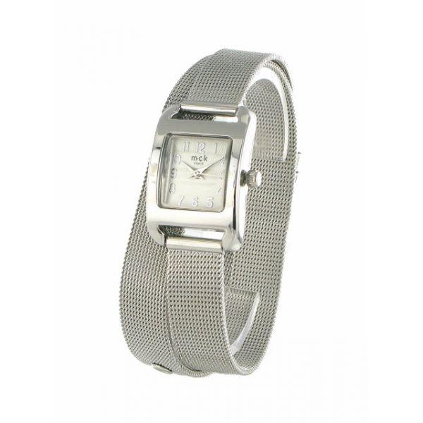 http://unemontretendance.com/878-montre-carree-double-bracelet-milanais-argent-mck-paris.html