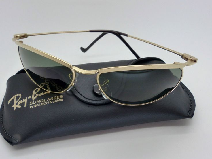 Vintage B&L Ray Ban W2568 Olympian Matte Gold G15 Sunglasses NOS Very Rare by VSOx on Etsy