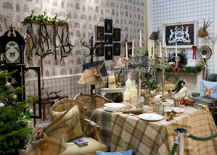 Room Set At The 2014 Country Living Magazine Christmas Fair In Harrogate