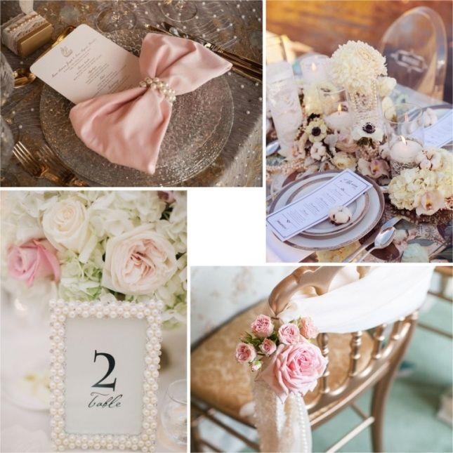 Свадьба с жемчужинами