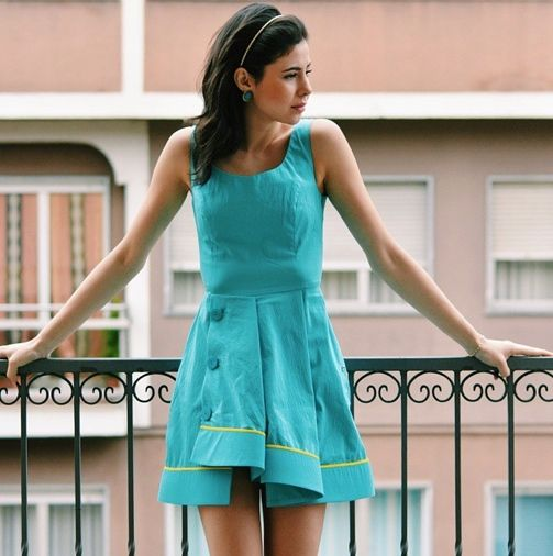 Juliane Borges wearing G2G dress #g2gdrem www.g2gdream.com