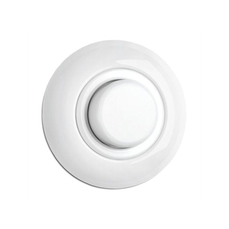 Variateur en porcelaine rond (encastrable) - THPG - Atelier 159