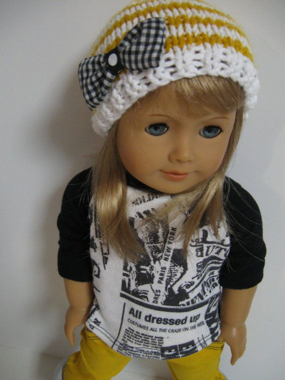 American Girl Doll Clothes Rocker Girl by 123MULBERRYSTREET, $28.00