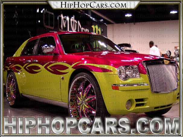 pimped out car shows florida | Hypnotic pimped-out Chrysler 300c with some Wild Rims : HipHopCars.com