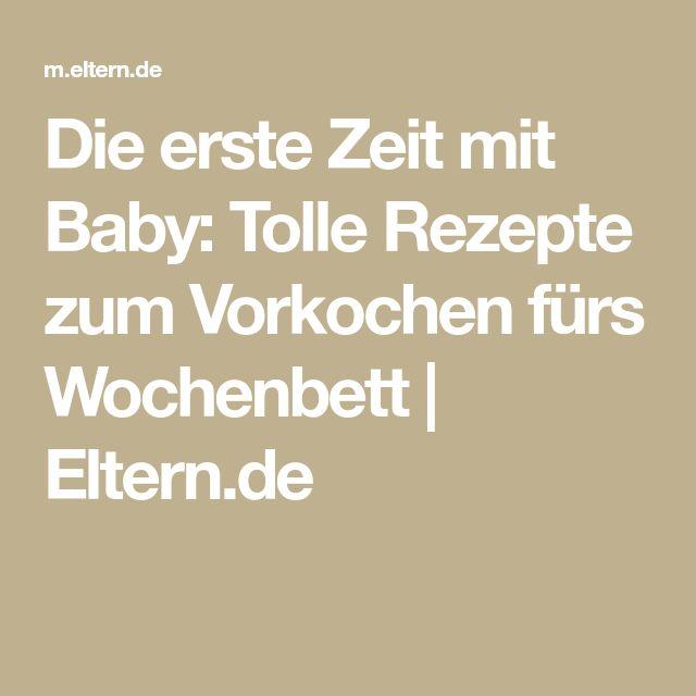 Die erste Zeit mit Baby: Tolle Rezepte zum Vorkochen fürs Wochenbett | Eltern.de