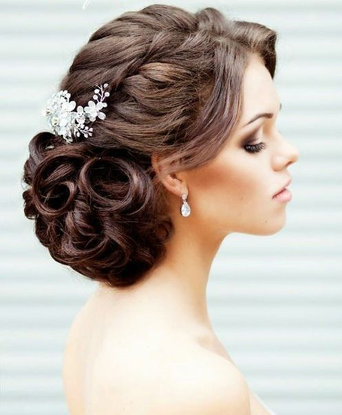 Wedding Braided Updo Hairstyles | Full Dose