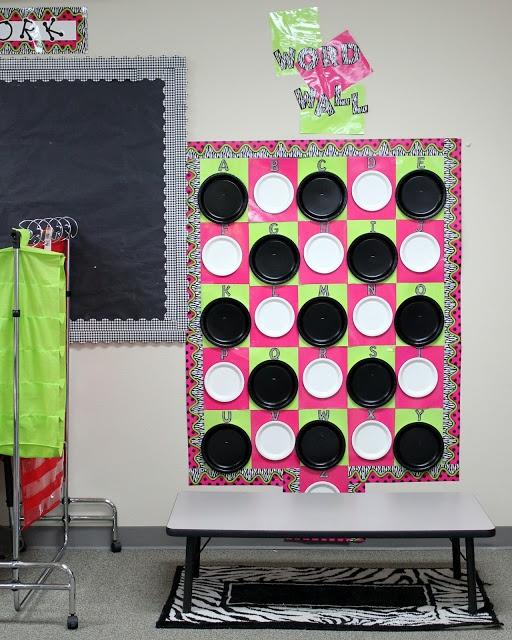 the teacher diva: classroom word wall | Classroom Ideas | Pinterest