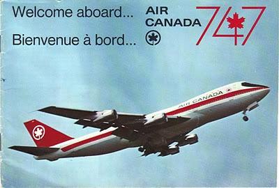 B747 Air Canada Ad