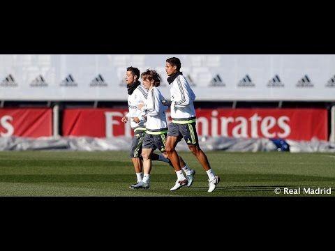 Real Madrid  Mira cómo entrenaron nuestros jugadores de cara al partido de Champions