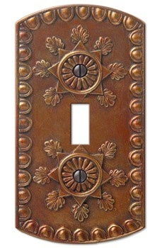 Switchplate: Switchplate Specialist, Amiens Copper, Rate Switchplate