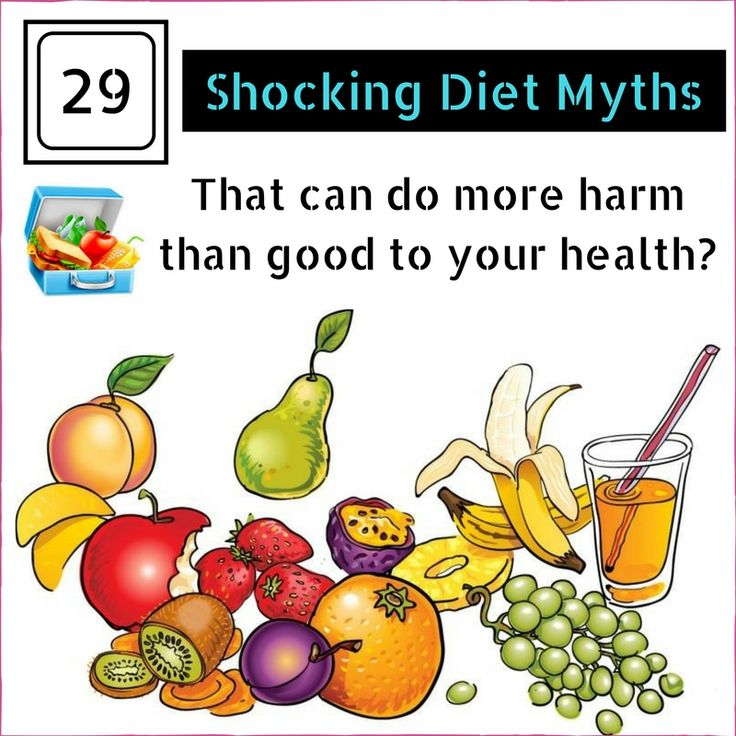 The Shocking #Diet Myths that can do more harm than good to your #health?