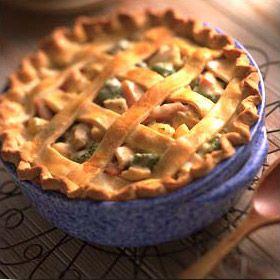 Turkey Pot Pie soup!
