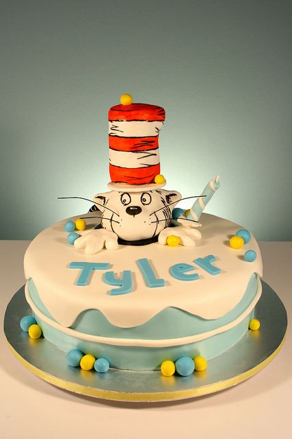 Dr. Seuss Cat in the Hat First Birthday