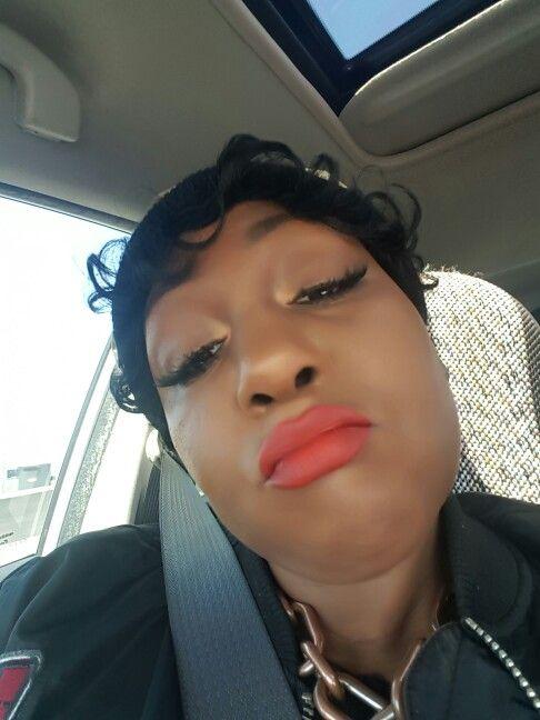 """Lady Dandrige"" Dare to Wear Matte lipstick with ""Idolized"" Infinity lip pencil  www.beautymarkedcosmetics.com"