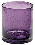 14 oz. Bubble Purple Drinking Glasses, Juice Glasses - Price: $19.45 at The Purple Store