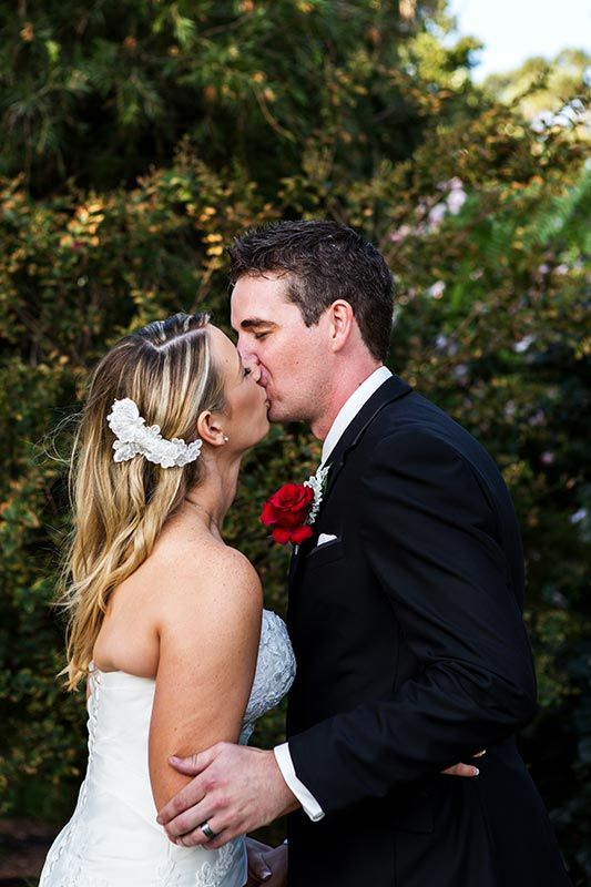 Adam and Jess's Kings Park Perth wedding. Image by Perth wedding photographer Sara Hannagan Photography