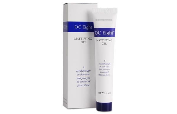 Applied after moisturiser and before make-up, the OC8 Mattifying Gel keeps oily skin shine-free for up to 8 hours and costs less than £10!