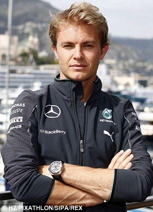 Monaco man: Nico Rosberg...