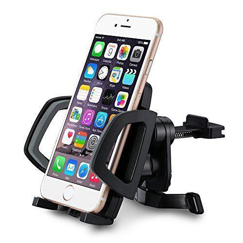 Support téléphone voiture Mpow Grip Air Vent, Support téléphone avec la rotation à 360 degrés, fixation à la grille d'aération, compatible…