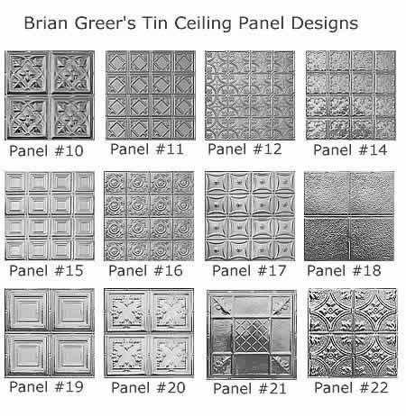 Tin Ceilings: Tin ceiling panels: Low maintenance elegance for homes, offices, stores | Old House Web