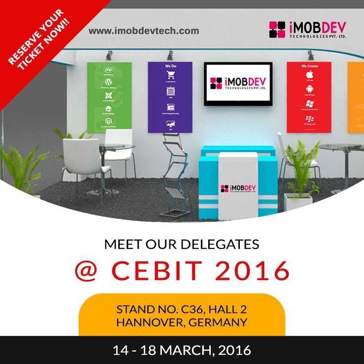 Exhibiting premier #IT projects @ #cebit16 : iMOBDEV