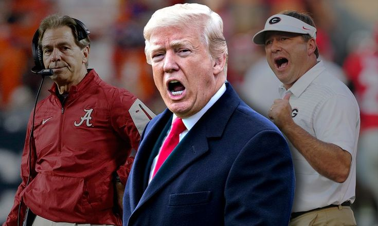 Here's a college football title game primer just for you, President Trump