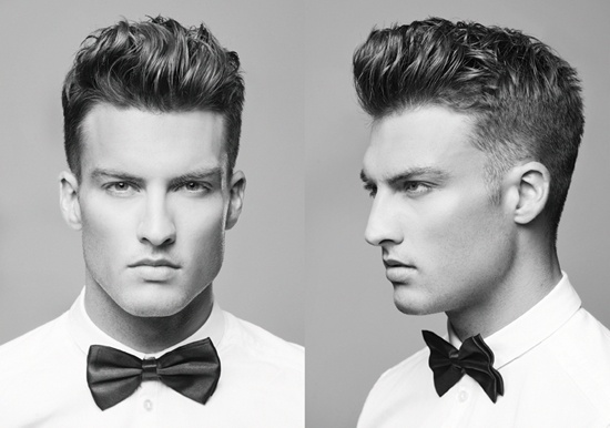 American Crew Face Off 2012. Clean Taper Fade and Pompadour!!!
