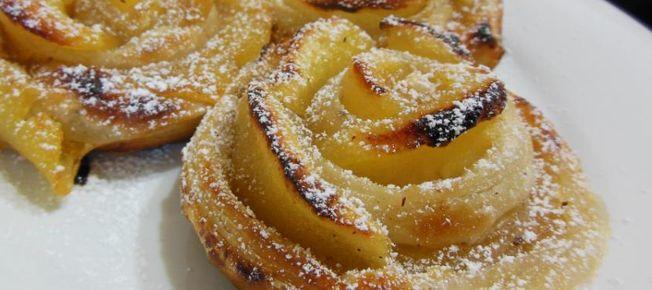 Rose di mele - Ricetta dolce