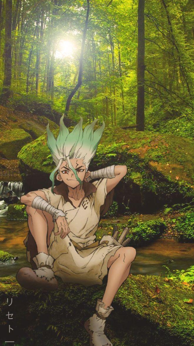 Senku Dr Stone Wallpaper Stone Wallpaper Anime Wallpaper Stone World