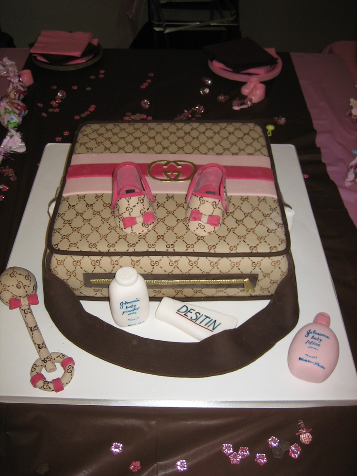 Baby Shower Cakes In Chicago ~ Amy beck cake design chicago il couture baby bag