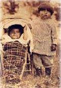 Photo: Old photo of Washoe Children.