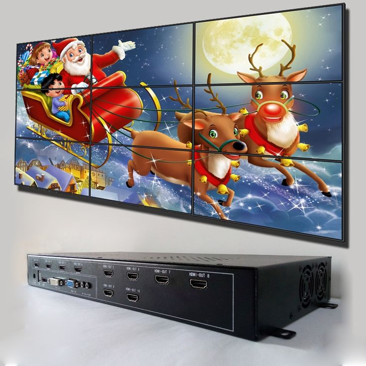 807.50$  Buy here - http://ali9o2.worldwells.pw/go.php?t=32775406835 - 3x3 tv video wall display controller 807.50$