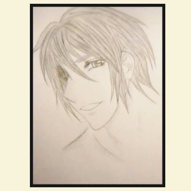 ♡♡♡♡♡♡♡ #drawing #anime #boy #cute #smile