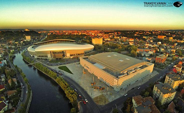 FOTO de la înălţime. Cum arată, în realitate, noua Sală Polivalentă lângă Cluj Arena | Citynews Cluj