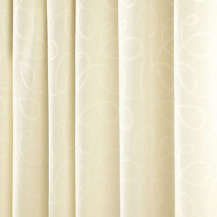 Toledo Cream Thermal Pencil Pleat Curtains | Dunelm