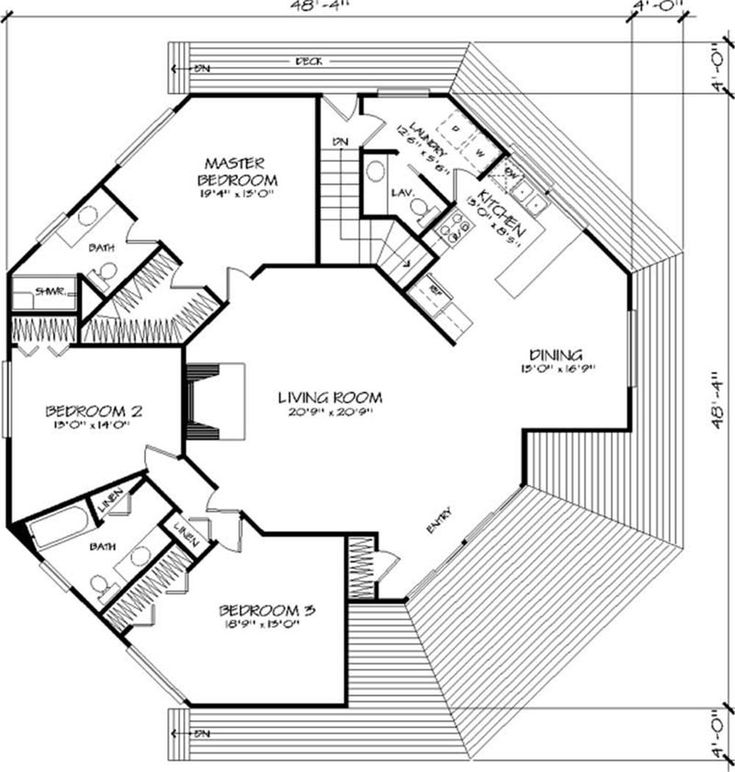 Floor Plan First Story