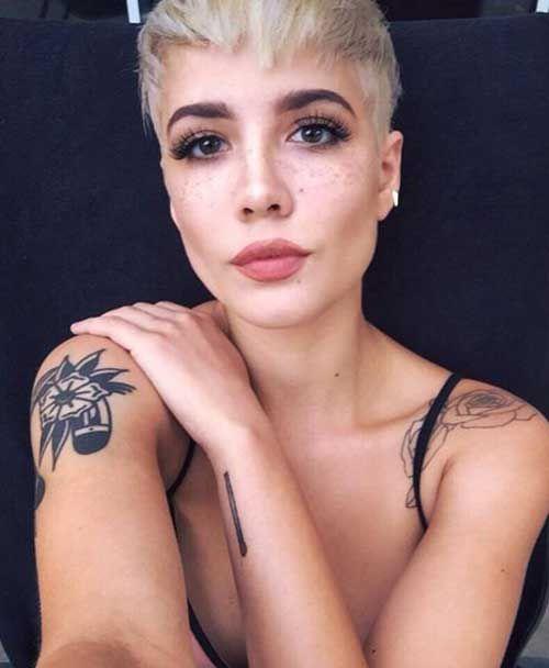 21. Undercuts Pixie Cuts for Badass Women