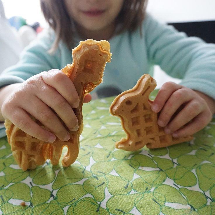 Waffles clássicas [desde os 12 meses]