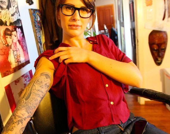 Locals Line up for 'Santa Cruz' Tattoos and to Fight Hunger - Santa Cruz, CA Patch