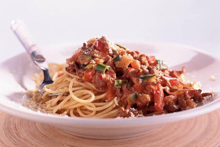 Spaghetti met romige pestosaus - Recept - Allerhande