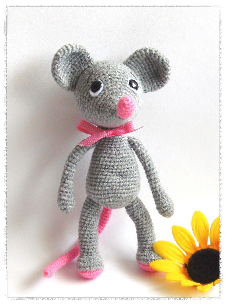 71 best Crochet Mouse~Free patterns images on Pinterest | Maus ...